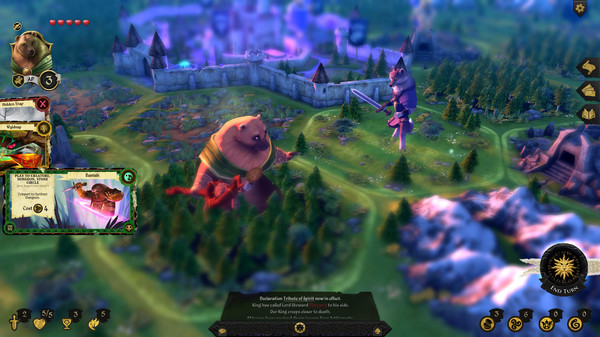 Digital fantasy boardgame Armello is slated for iPad later this year