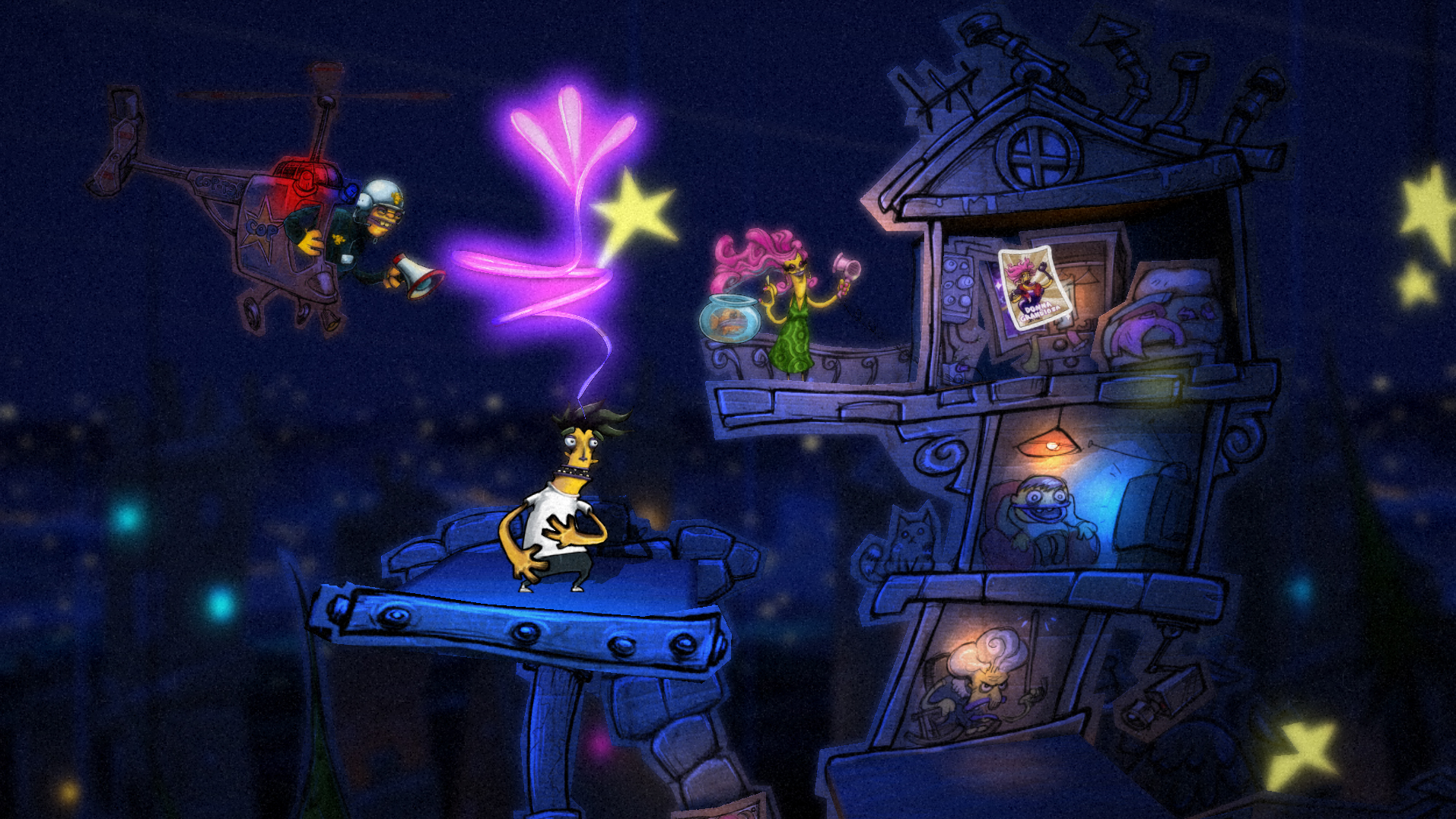 Gamescom '13: Psychonauts-esque Vita platformer Stick It To The Man 'probably' coming to iOS