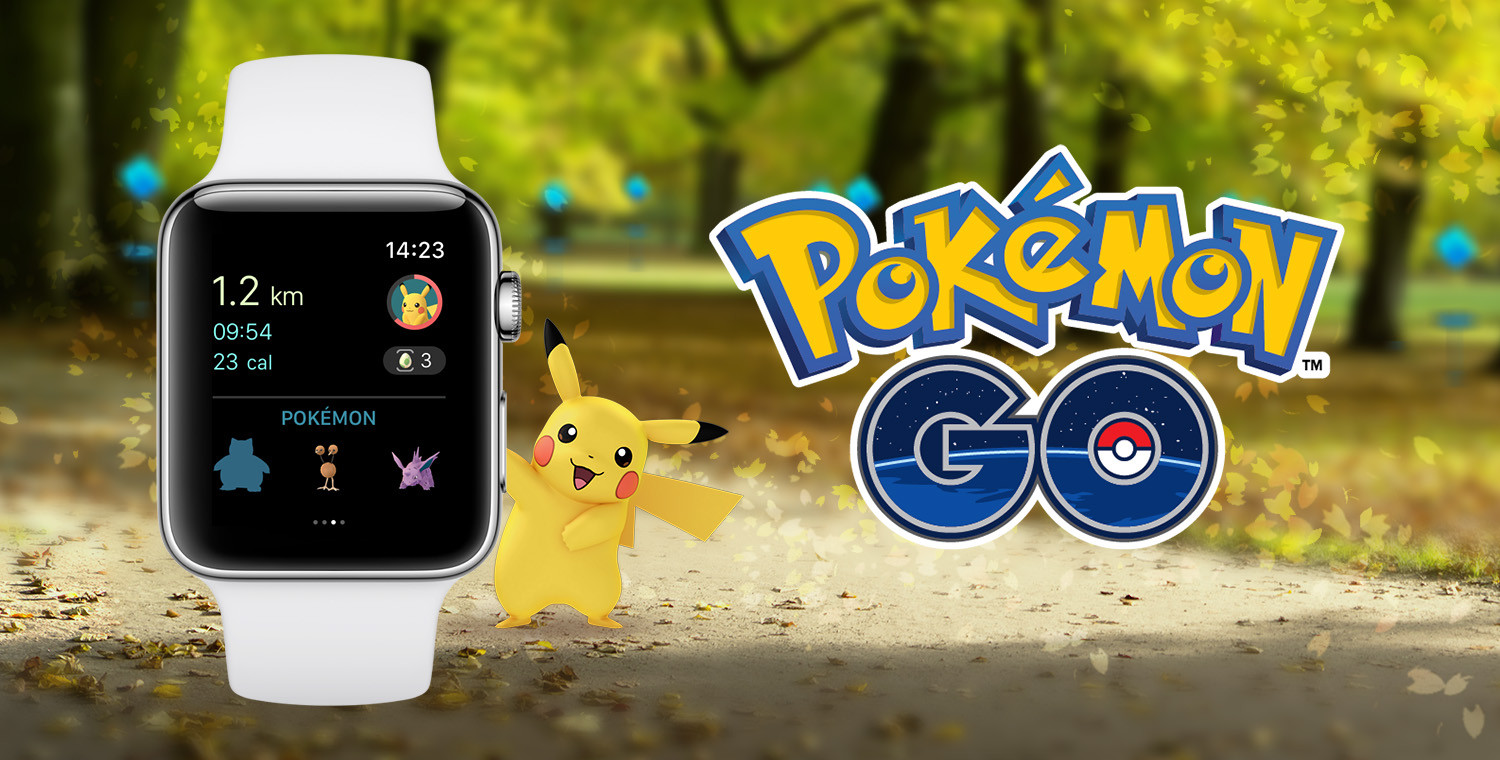Pokemon GO arrives on Apple Watch just in time for Christmas