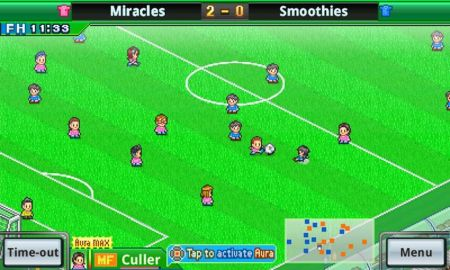 Score wonder goals like Messi and Neymar in Pocket League Story 2 for Android