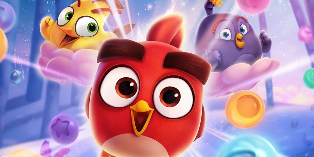 Angry Birds Dream Blast is a new bubble-popping puzzler featuring those famous avians