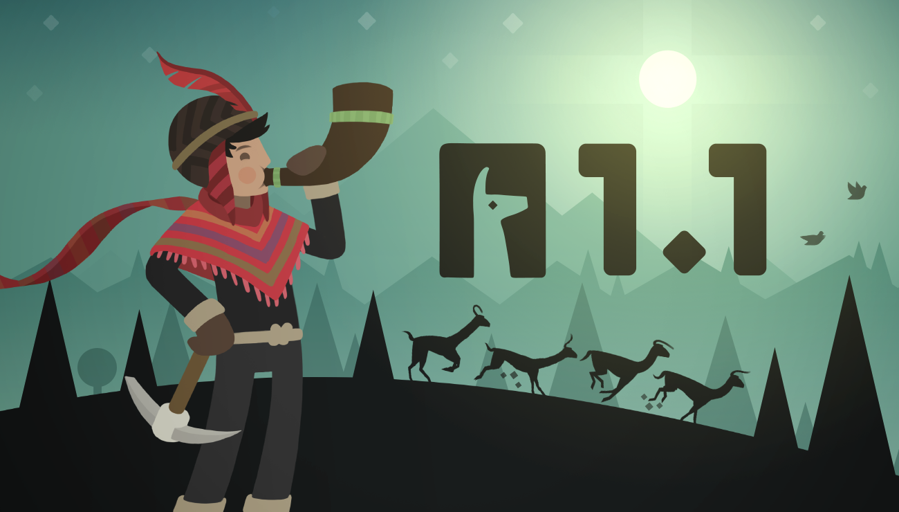 Beautiful snowboarding game Alto's Adventure updated with Metal support and llama stampedes