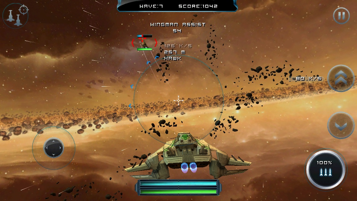 Episode 2 of space combat sim Strike Wing: Raptor Rising launches on iOS