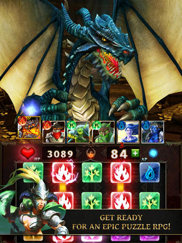 Dungeon Gems, Gameloft's mash-up of puzzler, RPG, and card-battler, is out right now for nothing on iPhone and iPad