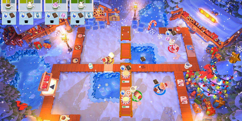 Cook up some holiday cheer with this free Overcooked 2 content update