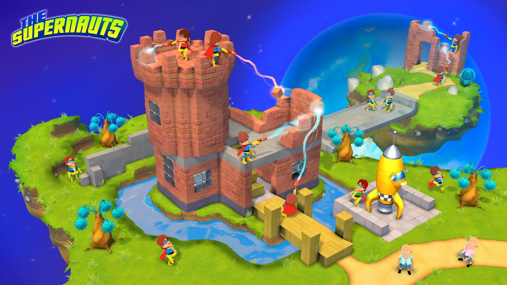 Grand Cru reveals its ambitious Minecraft meets Habbo meets LittleBig Planet social mobile game The Supernauts