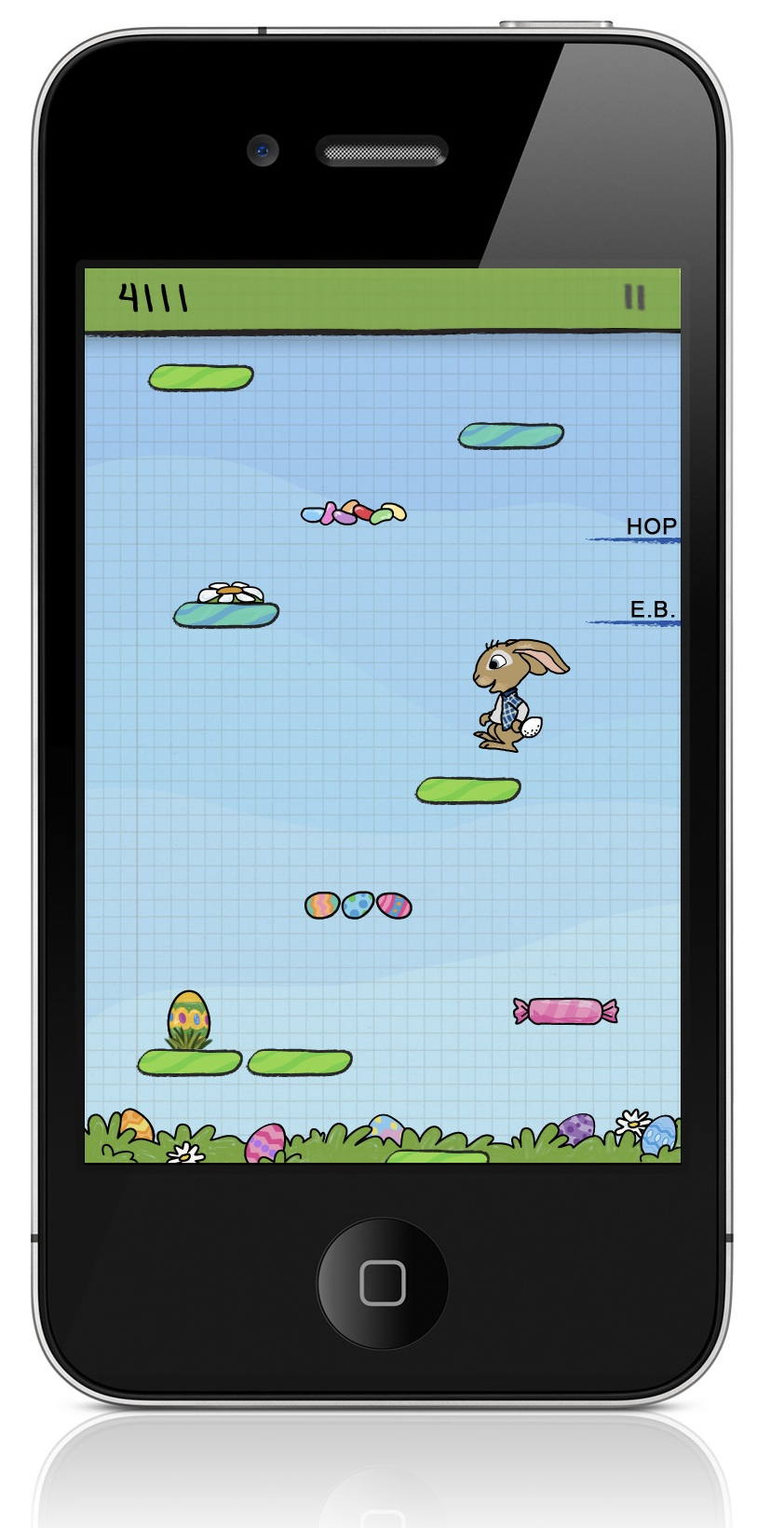 Doodle Jump collaborates with Hop movie for Easter update