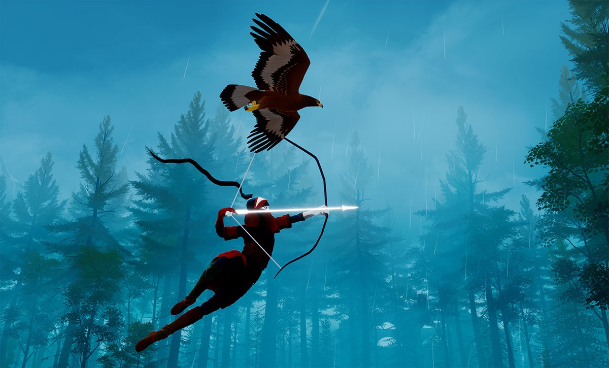 The Pathless, from the team behind Abzû, is an adventure on a deadly, mystic island, and coming to Apple Arcade
