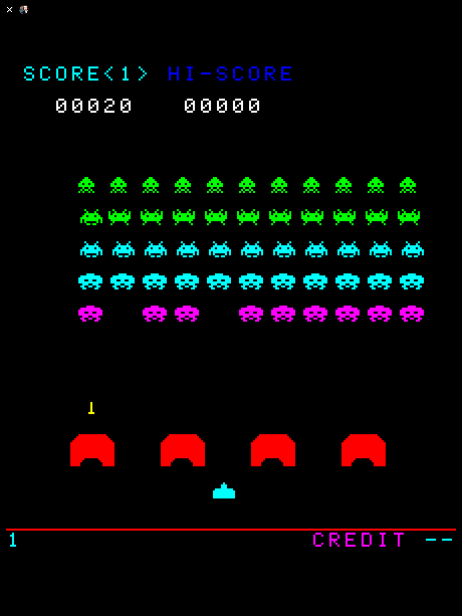 Space Invaders Facebook Messenger review