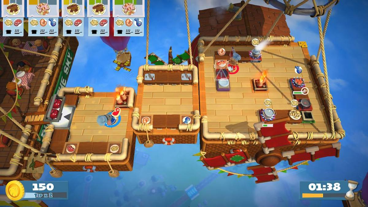 Overcooked 2 review - A culinary nightmare in all of the best ways