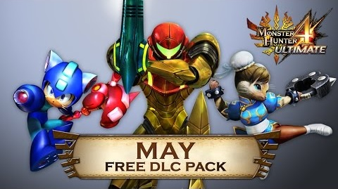 Monster Hunter 4 Ultimate's May DLC adds Metroid, Street Fighter, and Mega Man gear