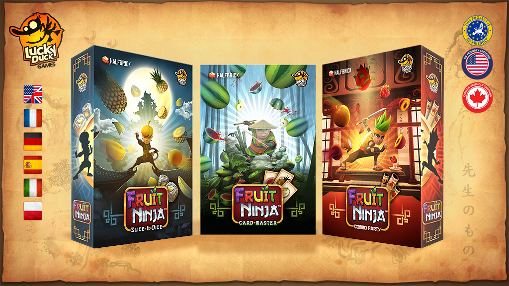 Fruit Ninja is getting turned into 3 board games - here's everything you need to know