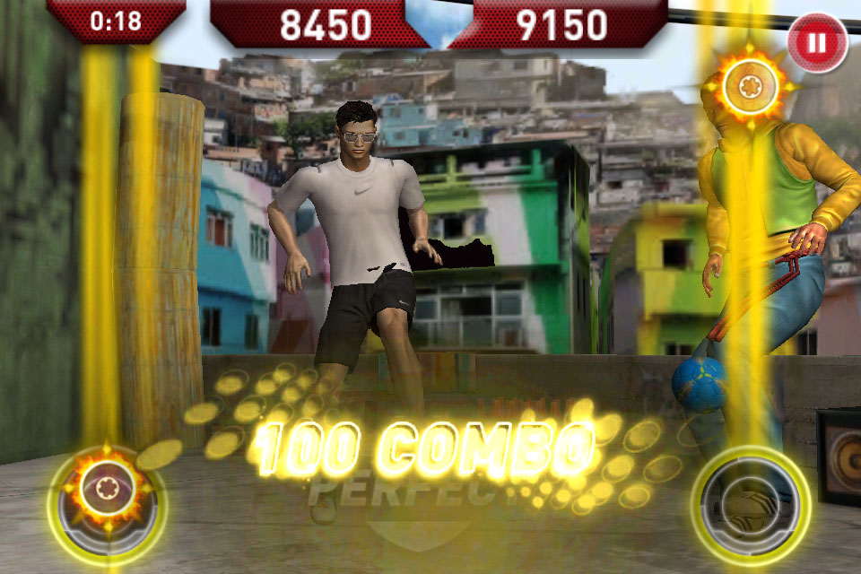 Digital Artists's Cristiano Ronaldo Freestyle volleys, tricks, and keepy-uppies onto iPhone