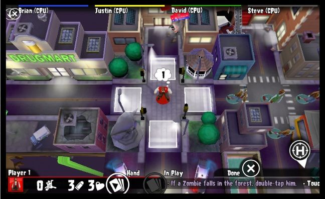 Zombies!!! the undead board game is cheap for iPhone and iPad right now