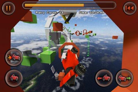 Jet Car Stunts gets massive update: iOS 4, Retina display, 26 DLC levels