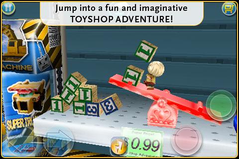 Glu's freemium iPhone platformer Toyshop Adventures bounces onto the App Store