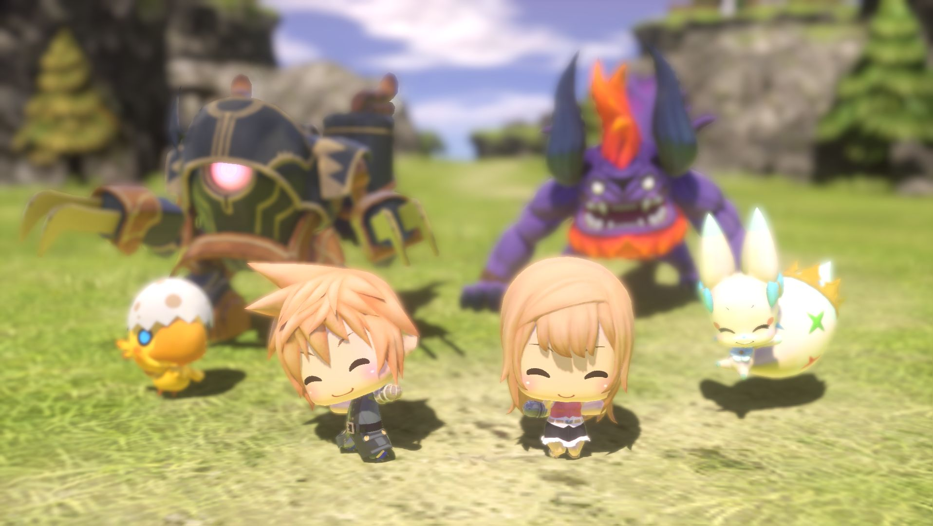 Chibi RPG World of Final Fantasy coming worldwide on October 25, new trailer released