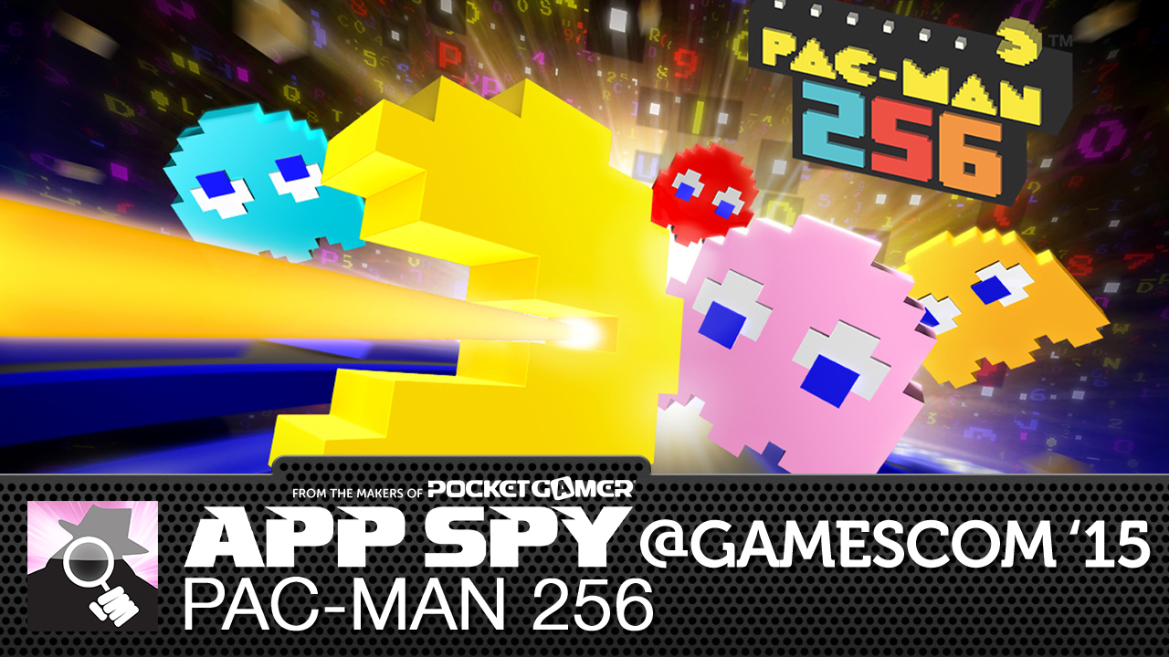 Gamescom2015: Pac-Man 256 is a compulsive blend of Crossy Road and wakka wakka