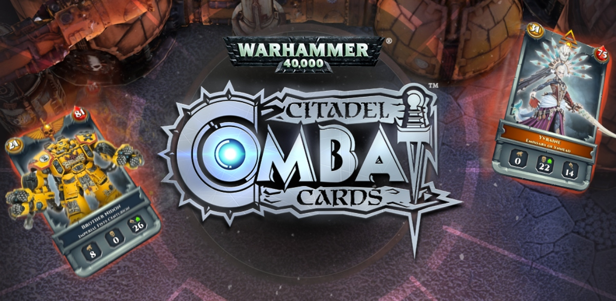 Cult Warhammer 40K card game Citadel Combat Cards is mobile-bound