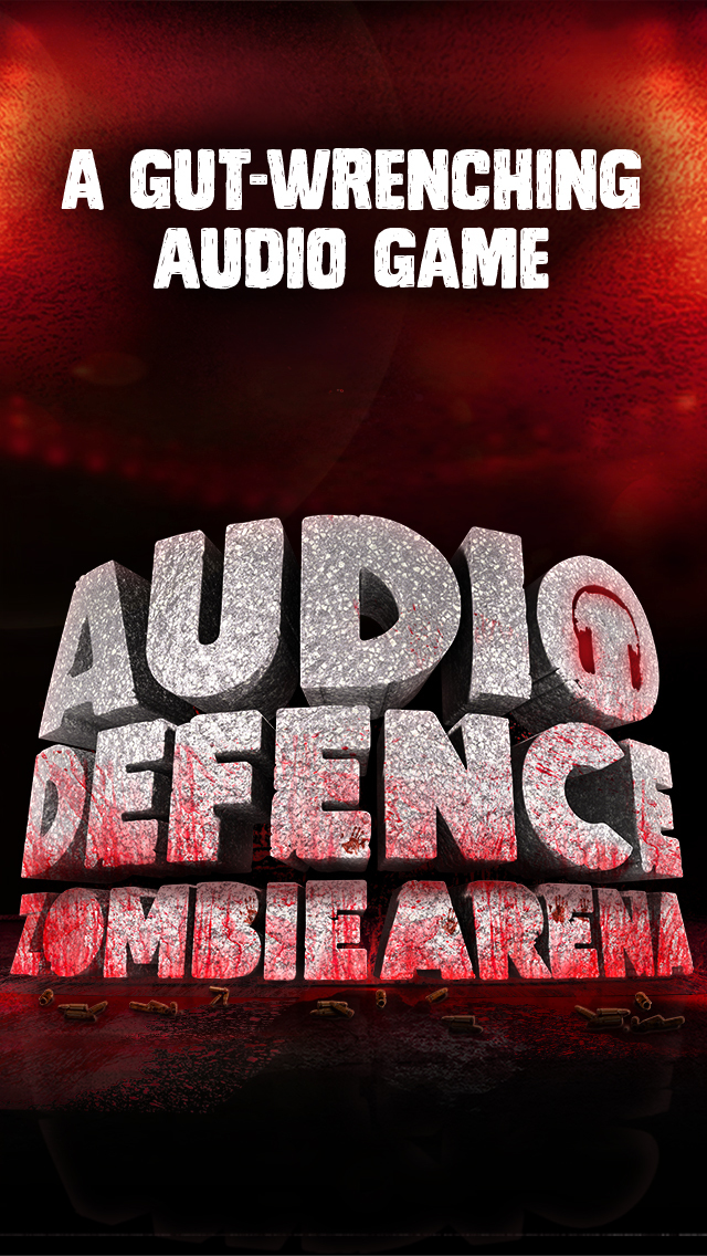 Audio Defence: Zombie Arena is a blood splattered sound-based shooter that's out now for iPad and iPhone