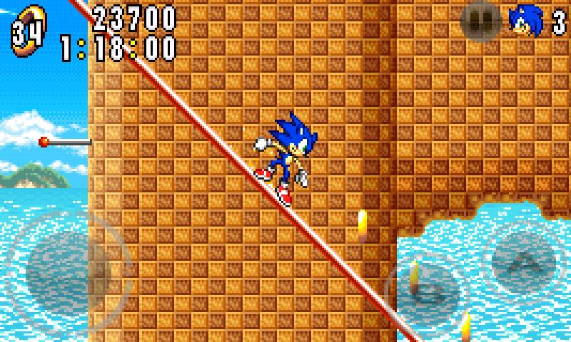 UPDATE: Game Boy Advance platformer Sonic Advance rushes onto the Japanese Android Market