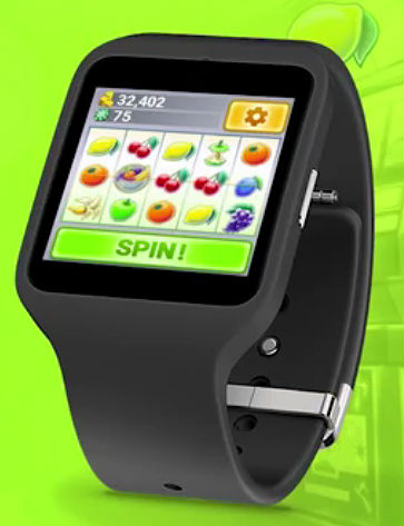 First fitness casino game Vegas Fruit Slots coming to smartwatches