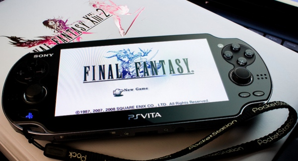 If you want Final Fantasy on Vita then you need to make some noise