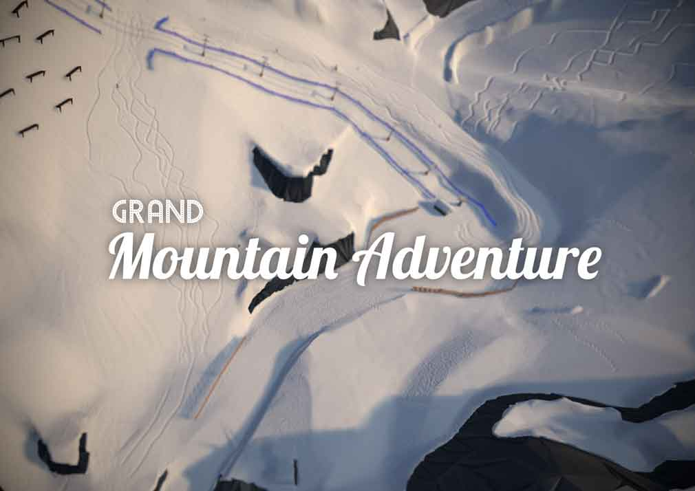 The award-winning Grand Mountain Adventure brings high-octane skiing action to Android