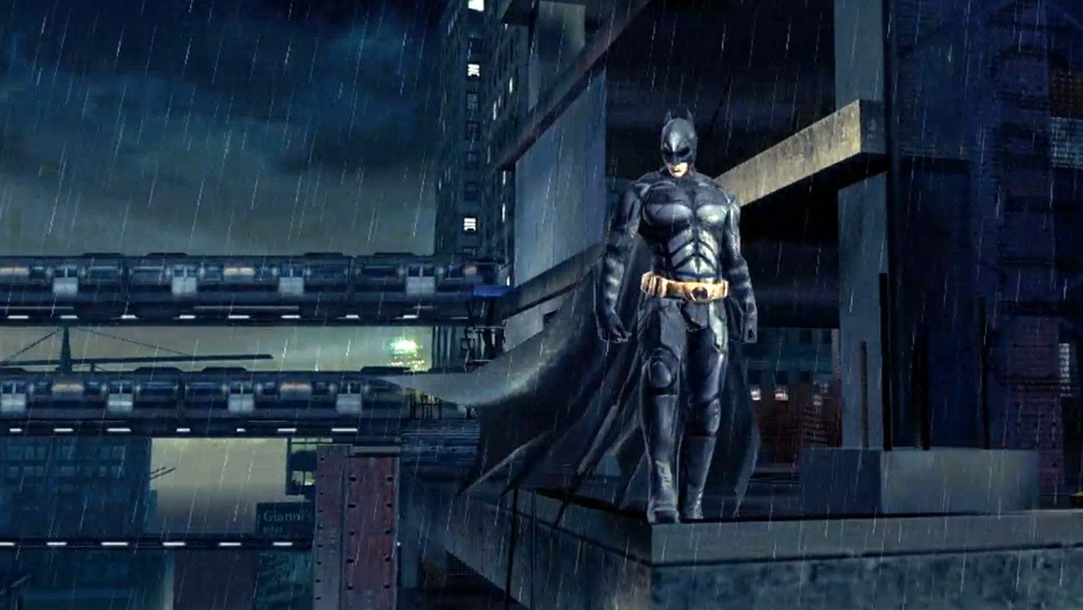 Gameloft's The Dark Knight Rises is an open world game, out at end of summer