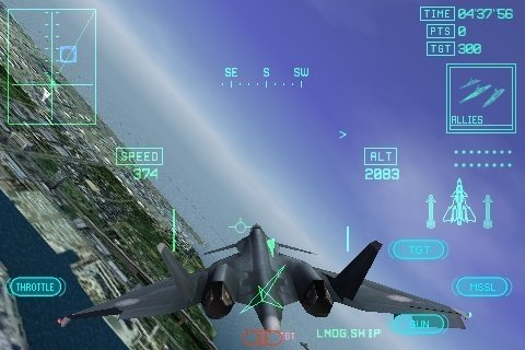 Ace Combat Xi update to add missions, planes on iPhone