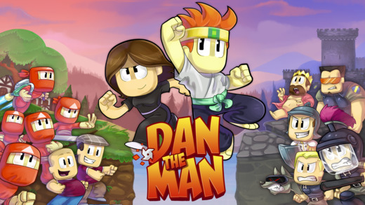 [Update] Halfbrick Studios' web series inspired platformer Dan the Man is out now on iOS