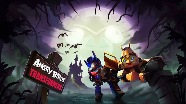 Angry Birds Transformers introduces new character Nemesis Prime in Halloween update