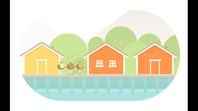 Burly Men at Sea review - A storybook shaped by play