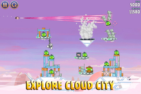 Explore Cloud City in Rovio's latest Angry Birds Star Wars update