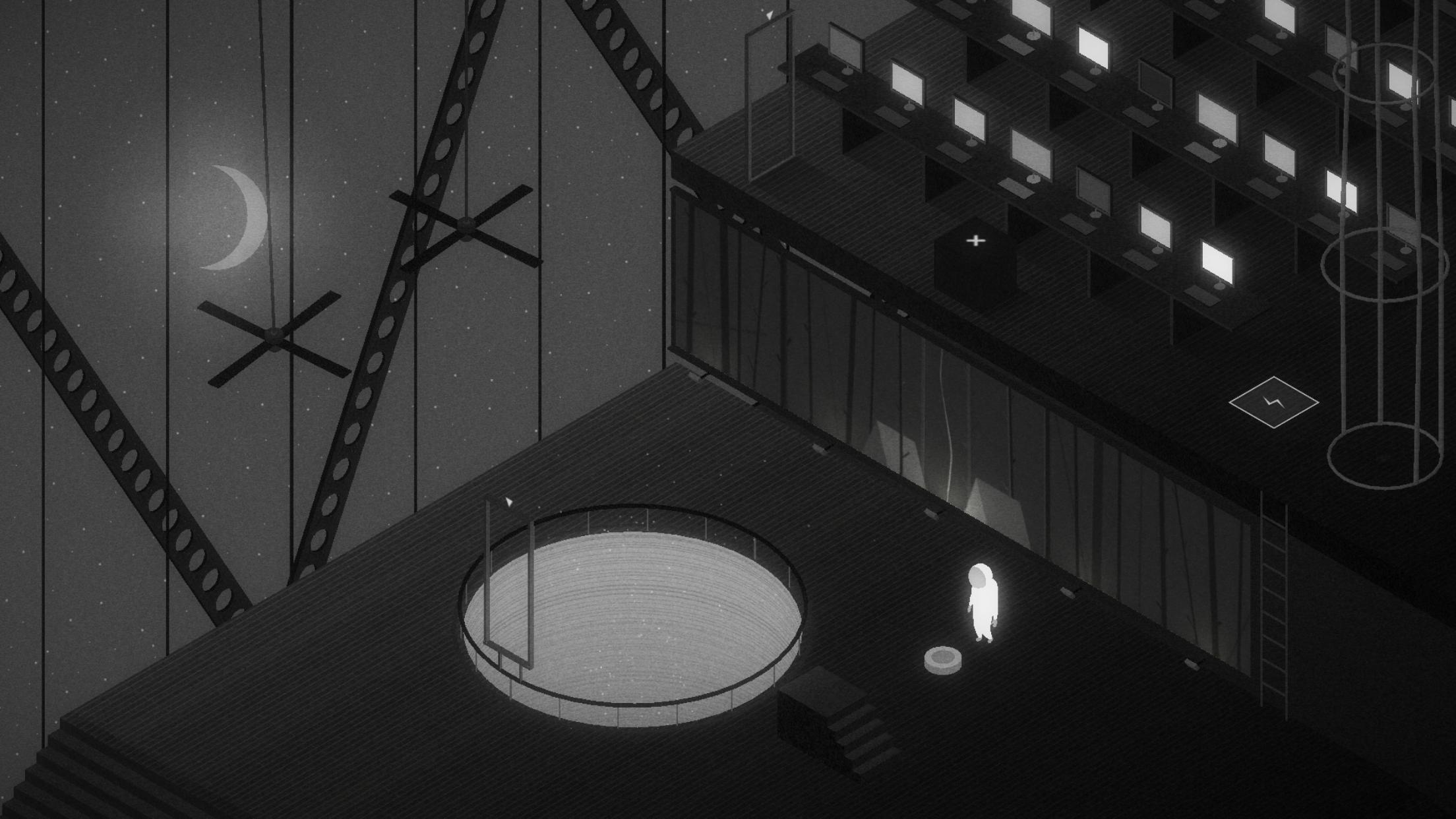 Starman is a cool isometric puzzler with some monochrome vibes, coming to iOS November 7th