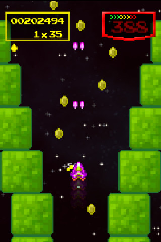 Gold Award-winning space dodger Hypership Out of Control is now available for free on the App Store