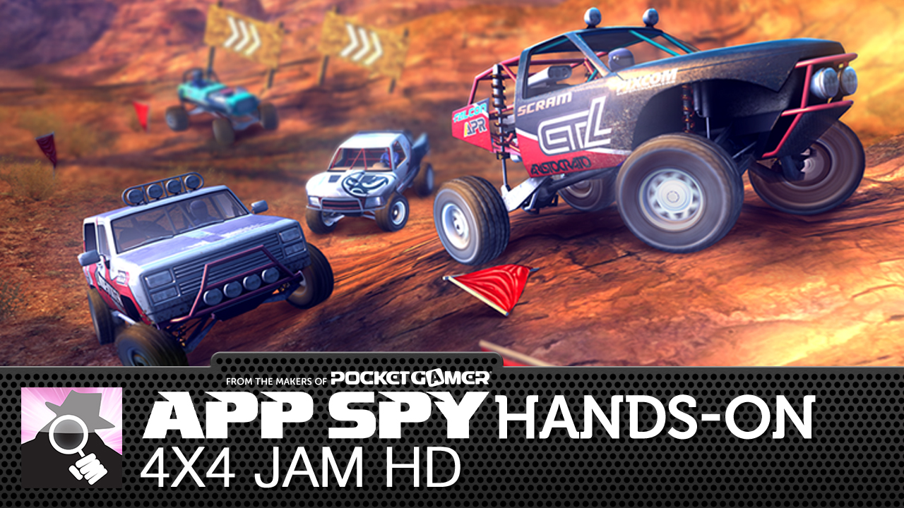 4x4 Jam HD is from the same people that brought you Daytona Rush, and we've got an early build