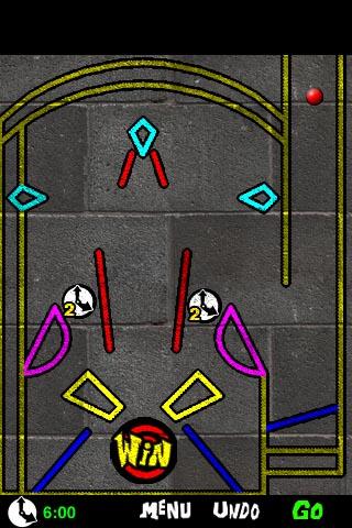 Backflip draws funky lines in physics game Graffiti Ball