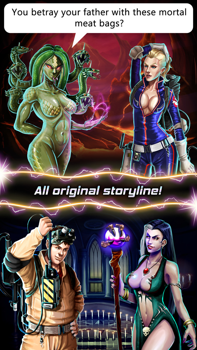 Capcom's Ghostbusters Puzzle Fighter goes into softlaunch on iOS
