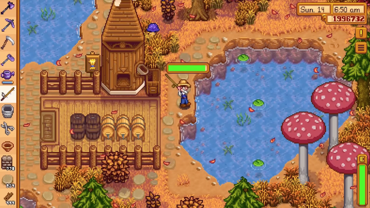 Stardew Valley is on its way to iOS and there's no time to wait