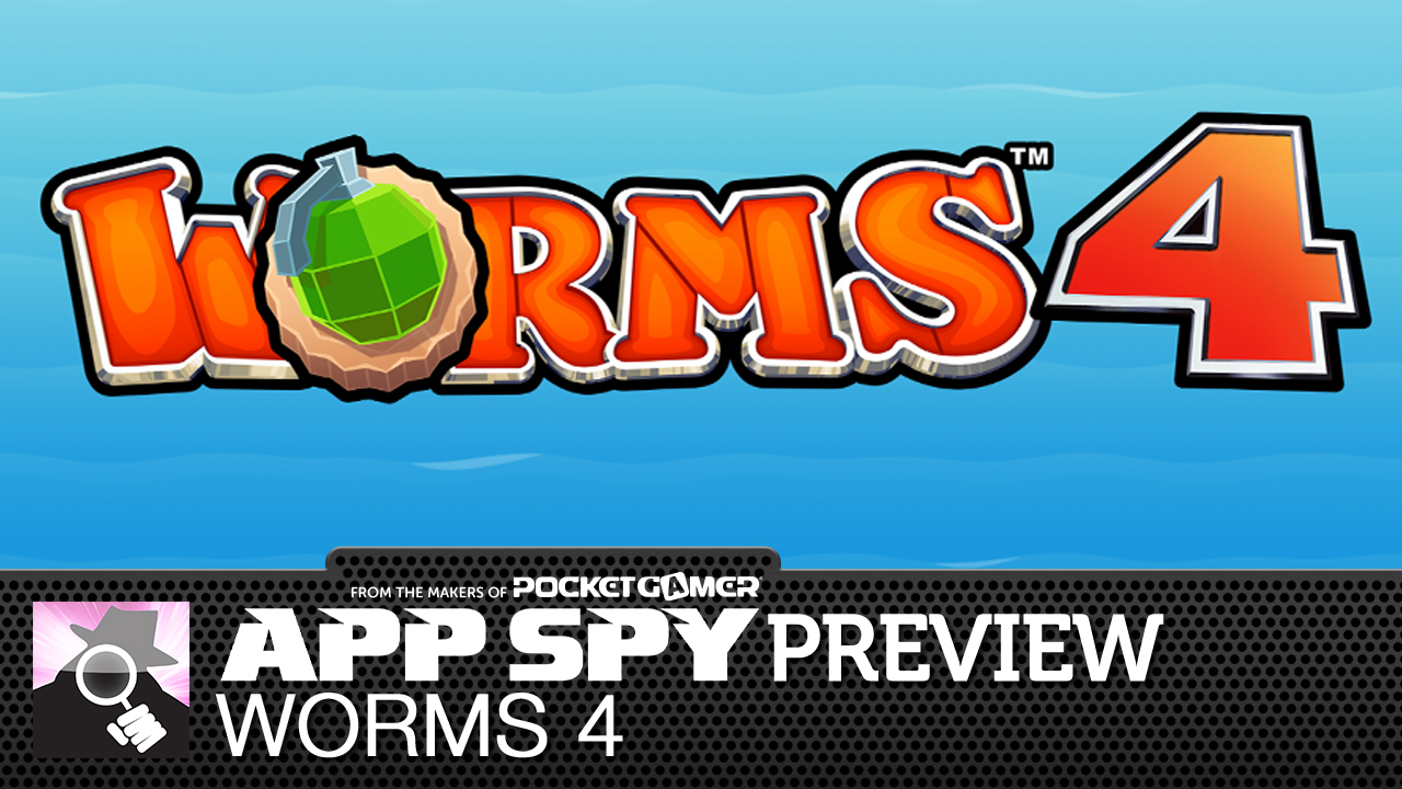 Video preview: Worms 4 is Team17's huge new mobile-exclusive entry in the series