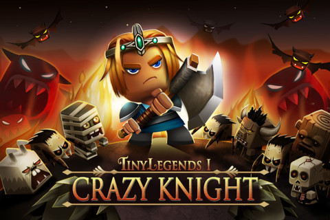 Free iPhone and iPad games: TinyLegends - Crazy Knight, Tiny War XD