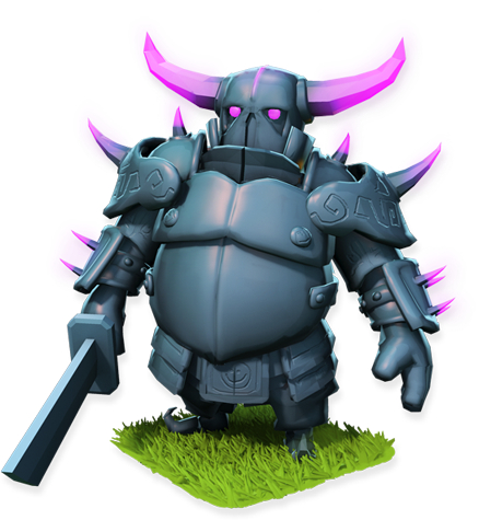 P.E.K.K.A. - soldier stats and troop tactics in Clash of Clans