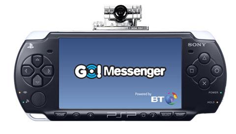 GC: Sony reveals Go!Messenger PSP details