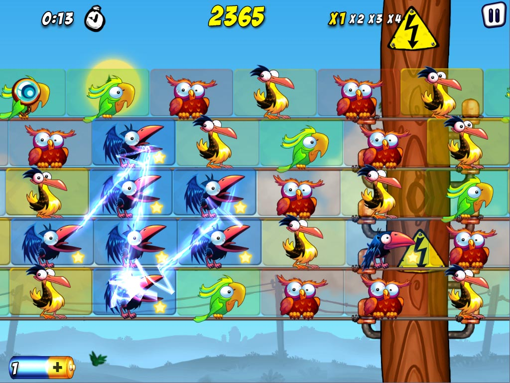 [UPDATE] Match-3 puzzler Bird Zapper! to launch on iOS this week, Android soon