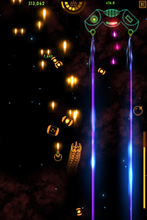 Face raining neon death in upcoming space shmup Plasma Sky