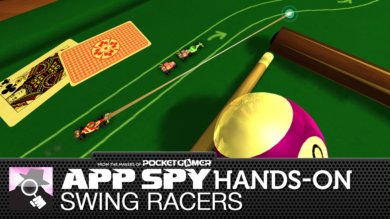 Swing Racers is a new iOS racer featuring some very micro machines