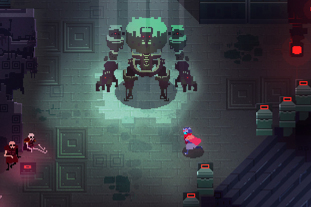 Test de Hyper Light Drifter