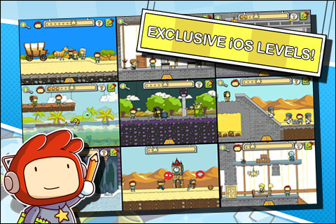 Scribblenauts Remix | Articles | Pocket Gamer