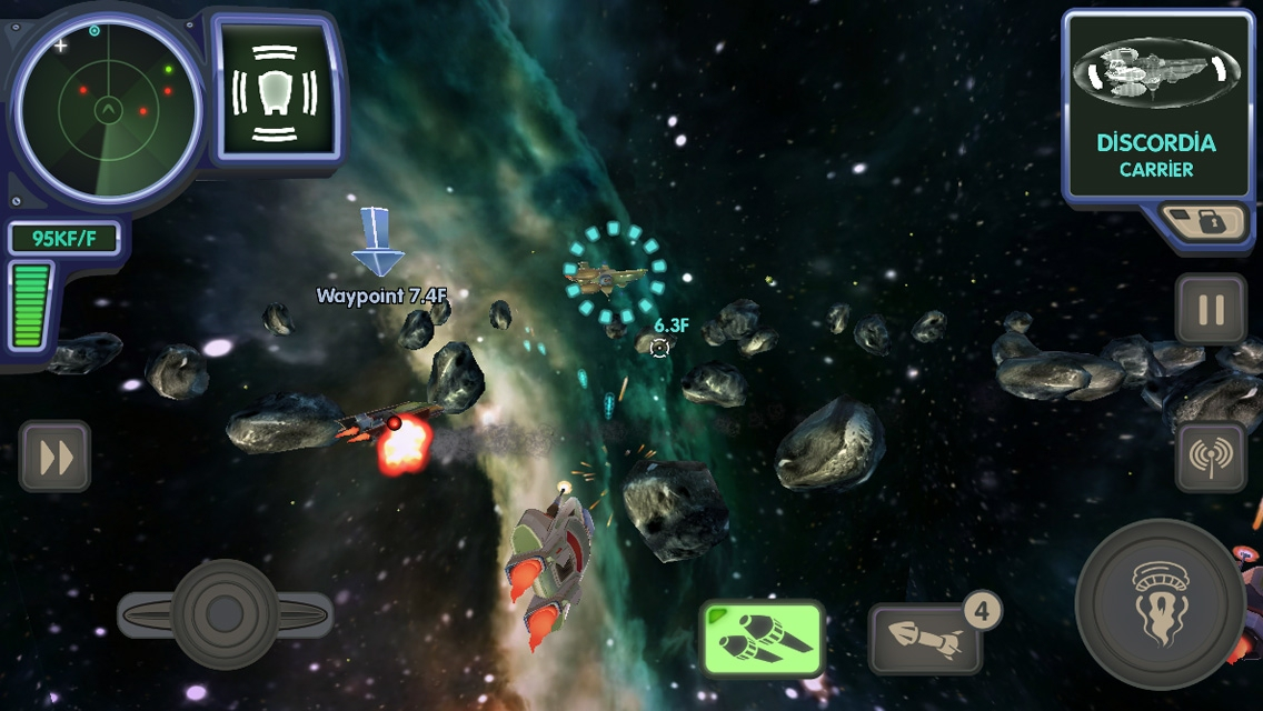 Out at midnight: Ace Ferrara and the Dinosaur Menace is a 3D shooter with some jokes for iPad and iPhone